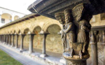 Il Chiostro romanico di Sant'Orso e l'antico mosaico