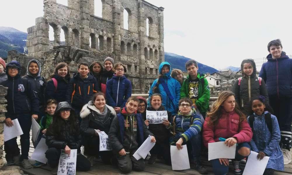 Gite scolastiche Aosta con guida turistica