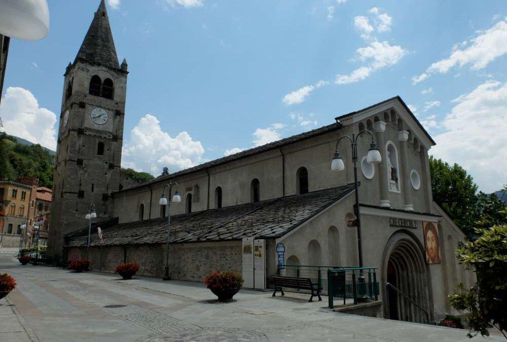 Chiesa romanica San Vincenzo di Saragozza a Saint Vincent