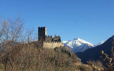"""Il Castello """"primitivo"""" e la sua evoluzione (Castello di Cly)"""