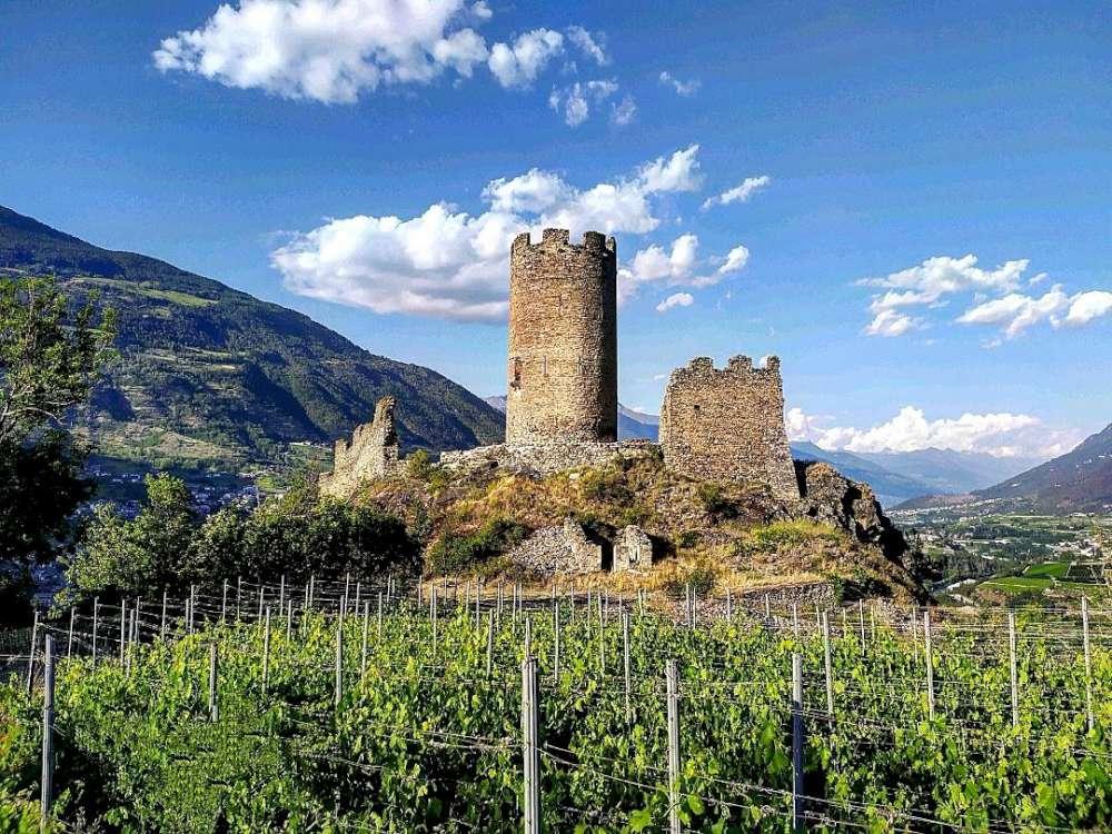 Visita del Castello Chatel Agent di Villeneuve