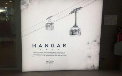 """Hangar 2173"" la storia delle funivie del Monte Bianco"