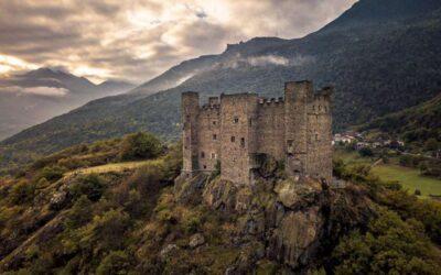 """Castello di Ussel e la penna """"Bic"""""""