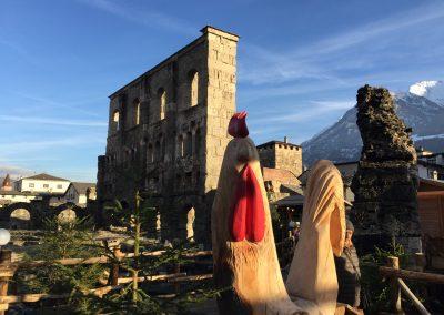 Mercatini di Natale Aosta visita guidata