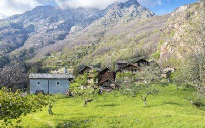 Chemp, un villaggio d'arte nella Valle del Monte Rosa