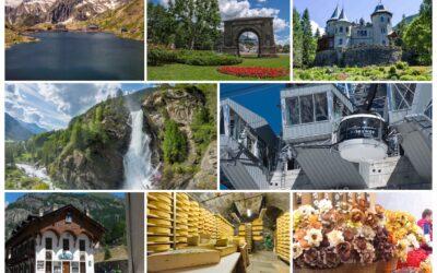 Gite estive e Tours alla scoperta della Valle d'Aosta