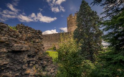 """BRAMAFAM l'antico castello """"cittadino"""" di Aosta medievale"""