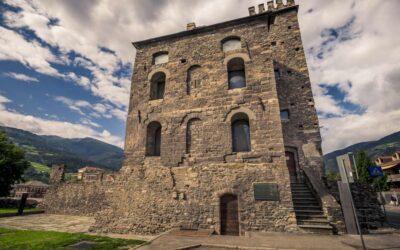 Le trasformazioni delle TORRI ROMANE di Aosta