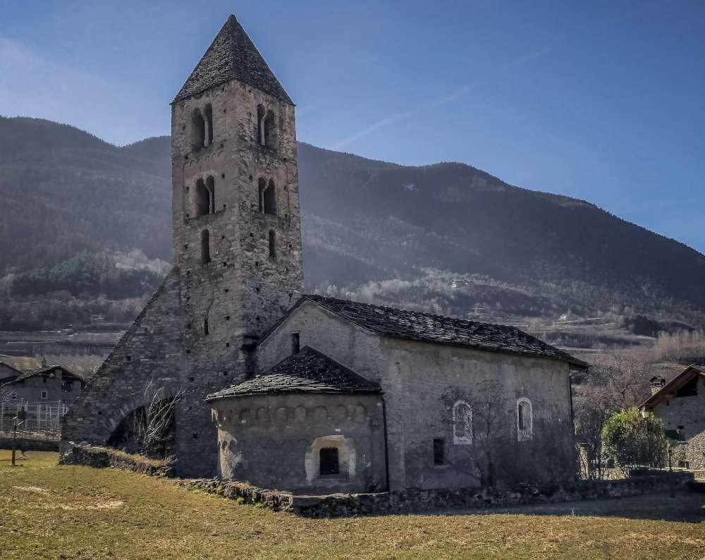 Visita chiesa Gressan Magdelaine