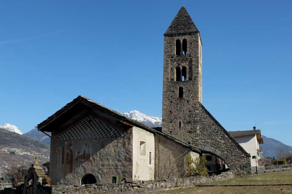 Visita chiesa Magdelaine Gressan