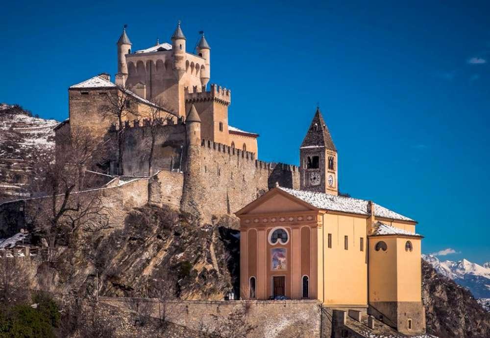 Castello di Saint Pierre visita
