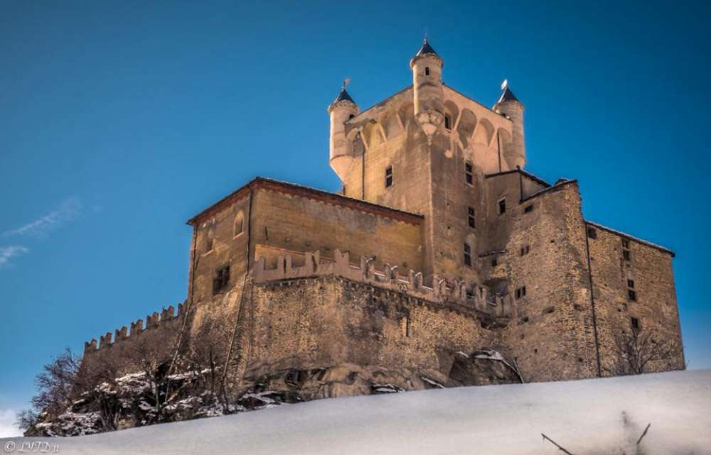 Castello di Saint Pierre Visita guidata