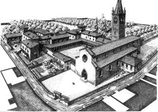 Aosta Convento di San Francesco - Corni