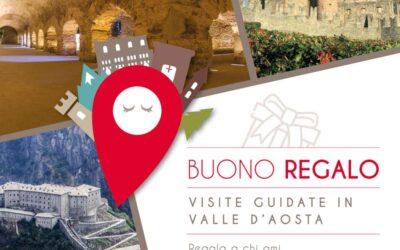 Buono Regalo visita guidata – La Valle d'Aosta tutto l'Anno!
